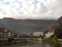 Amasya - Green River Fotografia Stock