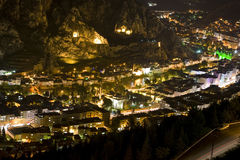 Amasya by night Royalty Free Stock Image