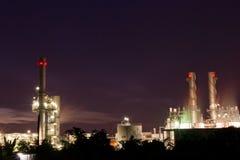 Amata nakhon electric power on night Stock Photo