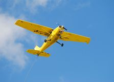 Amateur aircraft in flight Royalty Free Stock Photos
