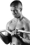 Amateur bodybuilder Royalty Free Stock Photo