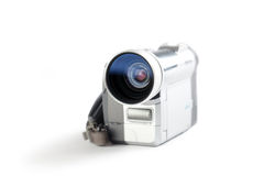 Amateur camcorder stock afbeelding