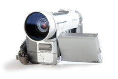 Amateur camcorder Royalty Free Stock Photography