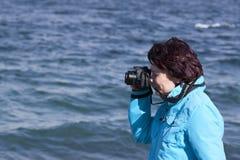 Amateur fotograaf Royalty-vrije Stock Afbeeldingen