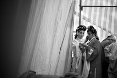 Amateur Peking Opera actors Royalty Free Stock Photos