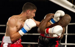 Amateur and Professional Boxing stock images