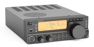 Amateur radio transceiver HF, 3D Royalty Free Stock Photos