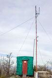 Amateur radioantenne royalty-vrije stock foto's