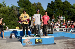 Amateur rank winners Stock Image