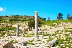 Amathus Ruins Stock Image