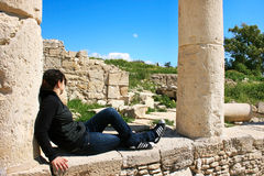 Amathus ruins Stock Photography