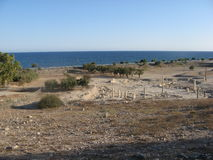 Amathus ruins, Cyprus, limassol. Stock Photos