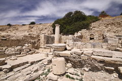 Amathus ruins, Limassol, Cyprus Stock Image