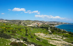 Amathus ruins,view from the hill Royalty Free Stock Photography