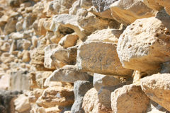 Amathus ruins wall Stock Image