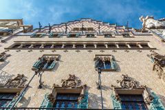Amatller House in Barcelona Royalty Free Stock Images