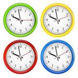 amator gromadzić zegarów grafika godzina wizerunku trochę dziwacznego ściennego zegarmistrza royalty ilustracja