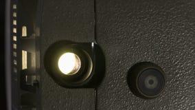 Amatorski kino Projektor dla 8mm filmu 1960s, 1970s, 1980s rok Domowy kino Ekranowi super 8 Materiał filmowy klamerka 4K zbiory wideo