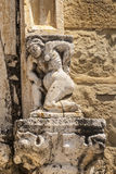 Amatrice - Średniowieczny kościół Zdjęcia Royalty Free