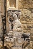 Amatrice - medeltida kyrka Royaltyfria Foton