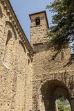 Amatrice - Medieval church Stock Photos