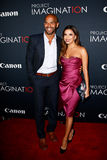 Amaury Nolasco, Eva Longoria Royalty Free Stock Photography