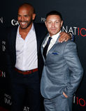 Amaury Nolasco, Lane Garrison Stock Images