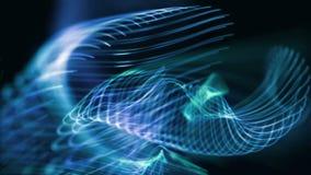 Amay 1080p αφηρημένος μπλε βρόχος υποβάθρου γραμμών τηλεοπτικός απεικόνιση αποθεμάτων