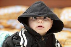 Amazed baby Royalty Free Stock Image