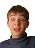 Amazed boy Royalty Free Stock Image