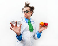 Amazed doctor Royalty Free Stock Image