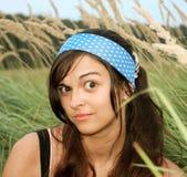 Amazed female face Royalty Free Stock Image