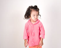 Amazed little kid Stock Photo