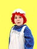Amazed rag doll Stock Images