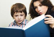 Amazed readers Stock Photos
