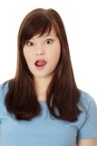 Amazed teen girl Royalty Free Stock Photo