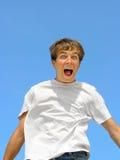 Amazed teenager Royalty Free Stock Photos