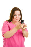 Amazed by Text Message Stock Photos
