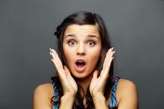 Amazement Royalty Free Stock Photo