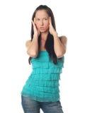Amazement girl Stock Photography