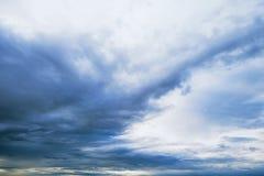 Amazin blue sky Stock Photography