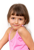 Amazing adorable little girl Stock Photos