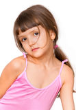 Amazing adorable little girl i Stock Images