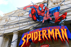 Amazing Adventure of Spider Man Royalty Free Stock Photography