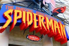 Amazing Adventure of Spider Man Stock Photography