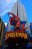 The Amazing Adventures of Spider-Man at Universal`s Islands of Adventure royalty free stock images