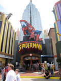 The Amazing Adventures of Spider-Man, Universal Studios Royalty Free Stock Photography