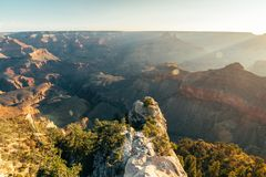 Aerial view of grand canyon national park, arizona. Amazing aerial view of grand canyon national park in Arizona, usa stock image