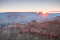 Aerial view of grand canyon national park, arizona. Amazing aerial view of grand canyon national park in Arizona, usa stock photography