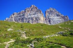 Amazing Alp Mountains Royalty Free Stock Photo